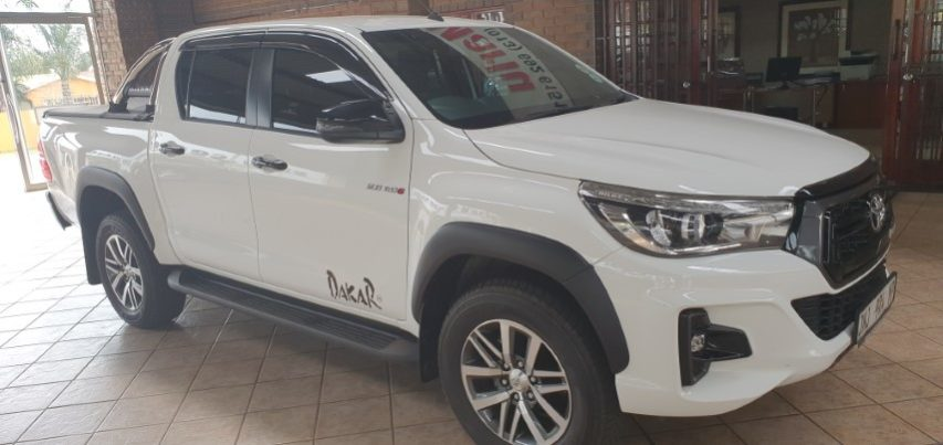 2018 TOYOTA HILUX 2 8GD-6 D/CAB DAKAR EDITION FOR SALE IN