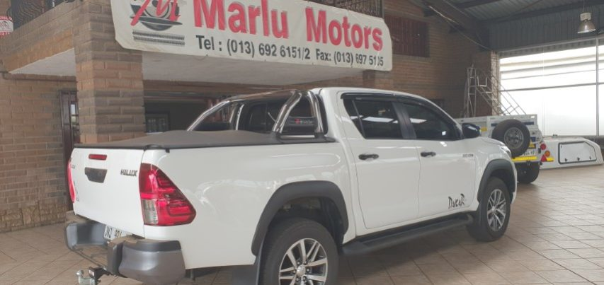 2018 TOYOTA HILUX 2 8GD-6 D/CAB DAKAR EDITION FOR SALE IN WITBANK