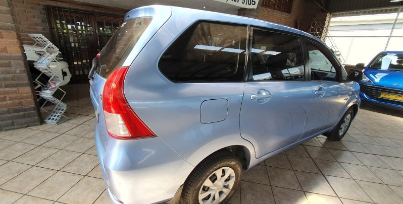 2014 Toyota Avanza 1.5SX Auto for sale in Witbank full