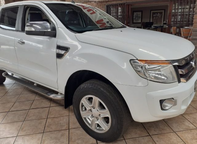 2012 Ford Ranger TDCI 3.2 XLT Double Cab Automatic for sale in Witbank full