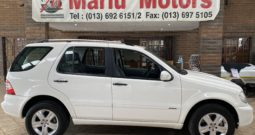 2007 Mercedes-Benz ML 270 CDI A/T For Sale In Witbank