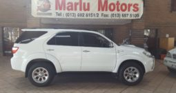 2010 TOYOTA FORTUNER D4D 3.0 MAN FOR SALE IN WITBANK