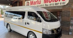 2019 NISSAN NV350 2.5 16SEAT IMPENDULO FOR SALE IN WITBANK