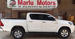 2017 TOYOTA HILUX 2.8GD6 DC 4X4 AUTO FOR SALE IN WITBANK