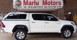 2017 TOYOTA HILUX 2.8GD6 DC 4X4 MAN FOR SALE IN WITBANK